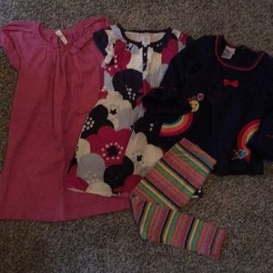 Girls size 5 lot, dresses, outfit